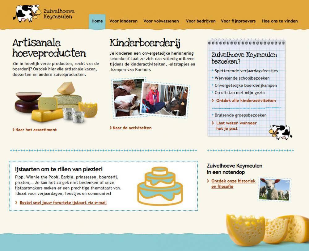 De Kaasboerderij Homepage
