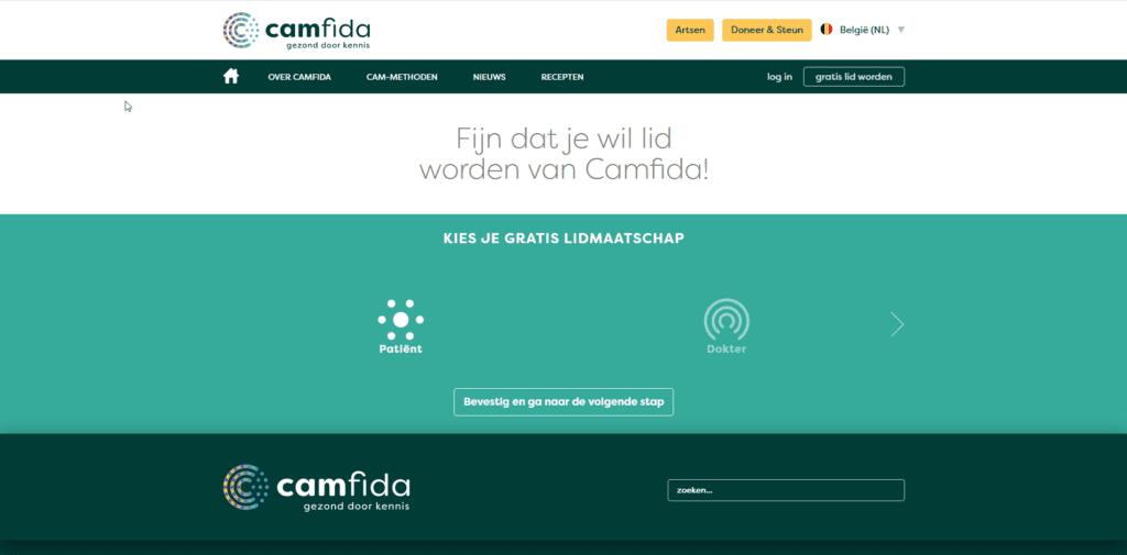 Camfida gebruikers