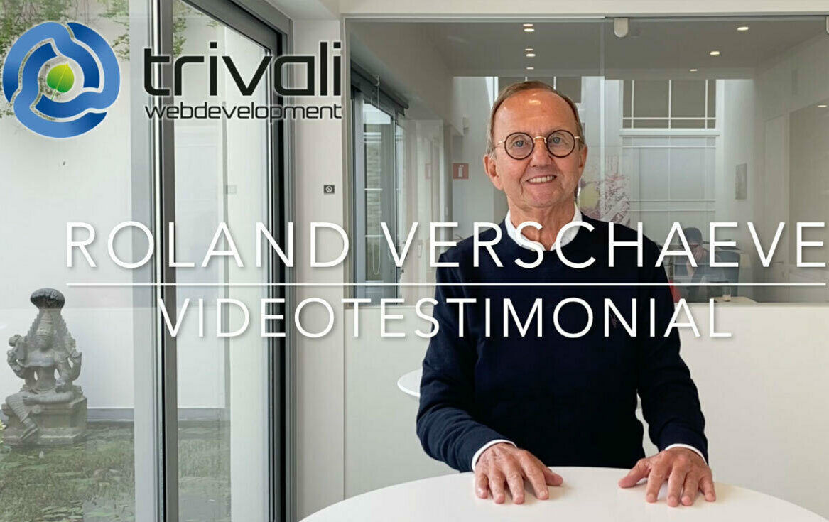 Videotestimonial Roland Verschaeve